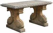 Table en pierre pour l'extérieur