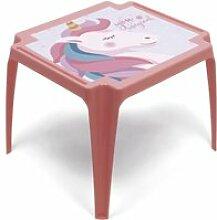 Table en plastique 50x55x44cm de zaska-licorne