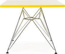 Table enfant Eames Eiffel - Jaune
