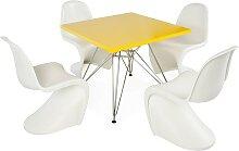 Table enfant Eiffel - 4 chaises Panton