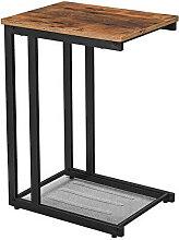 Table ergonomique avec étagère Vasagle