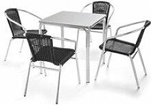 Table et chaises de jardin - Table carrée jardin