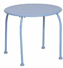 Table extérieur enfant Bari Hespéride bleu -