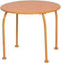 Table extérieur enfant Bari Hespéride orange -