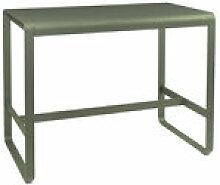 Table haute Bellevie / 140 x 80 x H 105 cm -