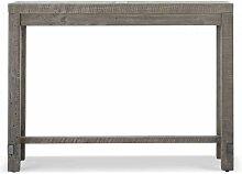 Table Haute Bois 140x45x106cm - Décorations