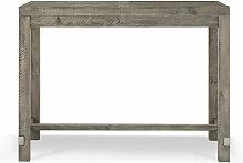 Table Haute Bois 140x85x106cm - Décorations