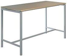 table haute creo structure aluminium plateau