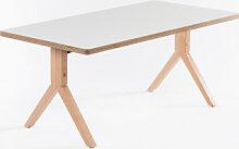 Table Igreg Blanc Sklum