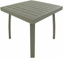 Table jardin d'appoint | aluminium renforcé