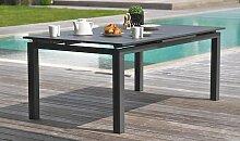 Table jardin extensible 240/300 cm en alu