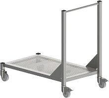 Table mobile pour salle blanche en inox