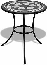Table mosaique noire / blanche