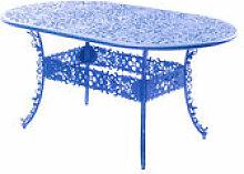 Table ovale Industry Garden / L 152 cm - Métal