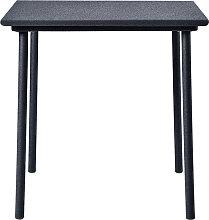 Table PATIO café 75 x 75 cm de Tolix, Bleu nuit
