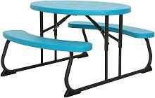 Table Picnic Ovale Enfant - Bleu