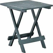 Table pliable de jardin Vert 45x43x50 cm Plastique
