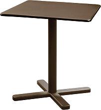 Table pliante DARWIN de Emu, Marron d'Inde