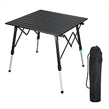 Table pliante portable en aluminium pour le