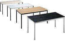 Table polyvalente rectangulaire, h x l x p 740 x