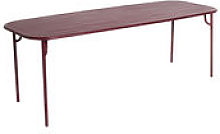 Table rectangulaire Week-End / 220 x 85 cm -