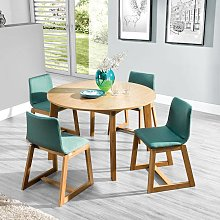 Table ronde extensible SCANDI Dimensions - 95 /