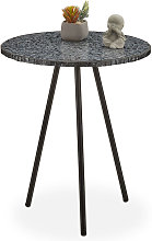 Table ronde mosaïque, Table d'appoint,