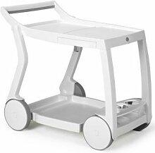 Table roulante jardin & terrasse design Galileo