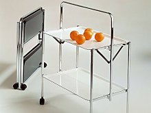 Table roulante refermable Select
