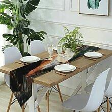 Table Runner Modern Art,Beautiful Painting
