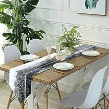 Table Runner Modern Art,Light background or