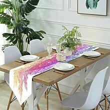 Table Runner Modern Art,Mandala paisley pattern