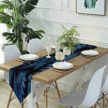 Table Runner Modern Art,Oriental magic lamp magic