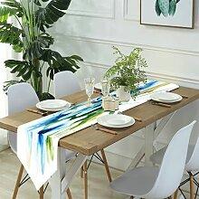 Table Runner Modern Art,Paris Illustration Of