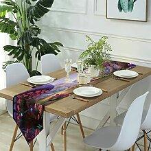 Table Runner Modern Art,Table tennis table, table