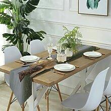 Table Runner Modern Art,Tennis Ball,Dinner Holiday