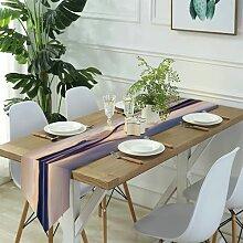 Table Runner Modern Art,texture light green