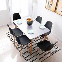 Table Salle à Manger WISS Scandinave Design Bois