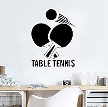 Table Tennis Art Vinyl Wall Stickers Kids Room