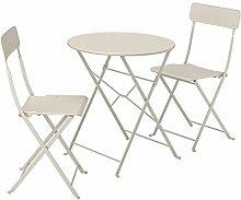 Table Tok Mark Traders SALTHOLMEN avec 2 chaises