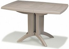 TABLE VEGA 118x77x72 cm coloris lin - lin
