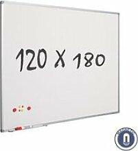Tableau blanc 120 x 180 cm - magnétique