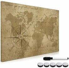 Tableau magnétique - Panneau mémo 60 x 40 cm