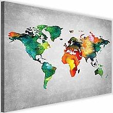 Tableau sur Toile Carte du Monde Moderne Image