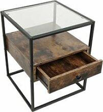 Tables de chevet hombuy industriel - table