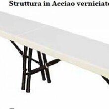 TABLES EXTÉRIEURES / JARDIN R82 / PP BANC PLIANT