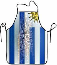 Tablier de cuisine avec drapeau de l'Uruguay