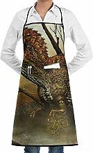 Tablier de cuisine humoristique Dinosaure Chasseur