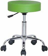 Tabouret à roulettes/de travail Kopa Vert