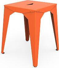 Tabouret bas Cuatro - Orange - Clementine